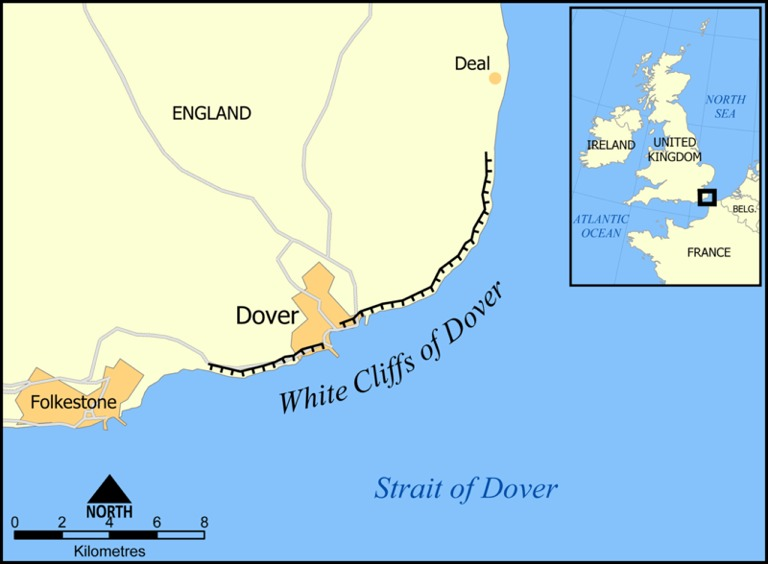 A Map of the White Cliffs of Dover