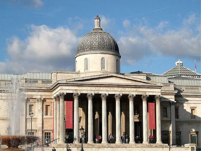 National Art Gallery in London, England