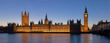 Palace of Westminster, seat of Parliament of the United Kingdom