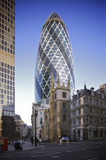 30 St Mary Axe, also known as the Gherkin