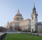 St. Pauls Cathedral, London, England Jan 2010